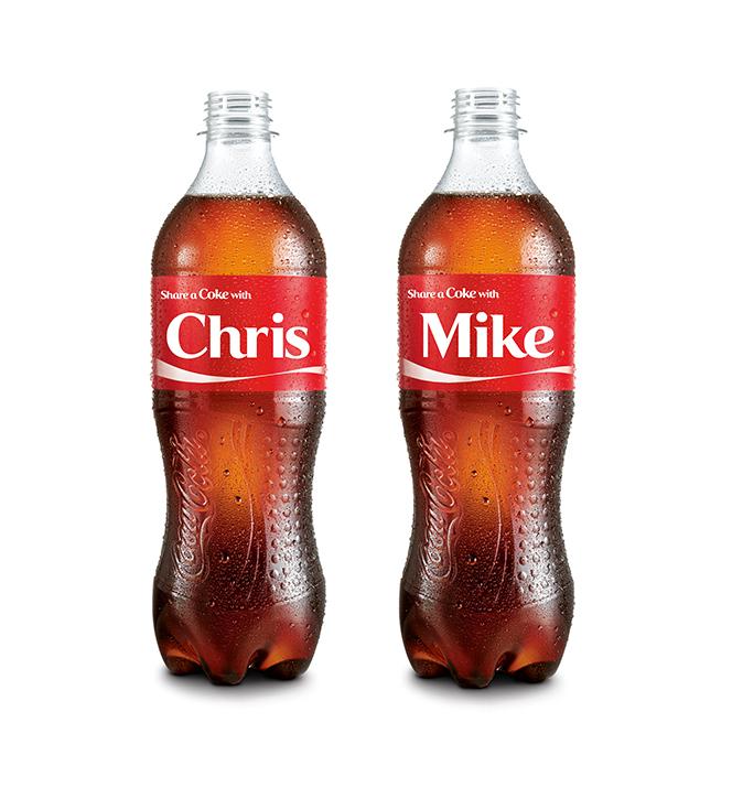 Share a Coke - Adding personal to personalization